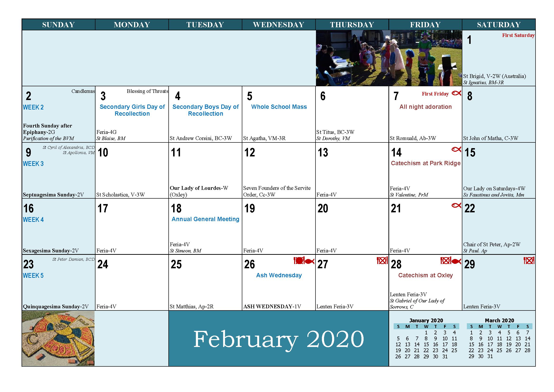 School and Parish Calendar 2020_Page_05