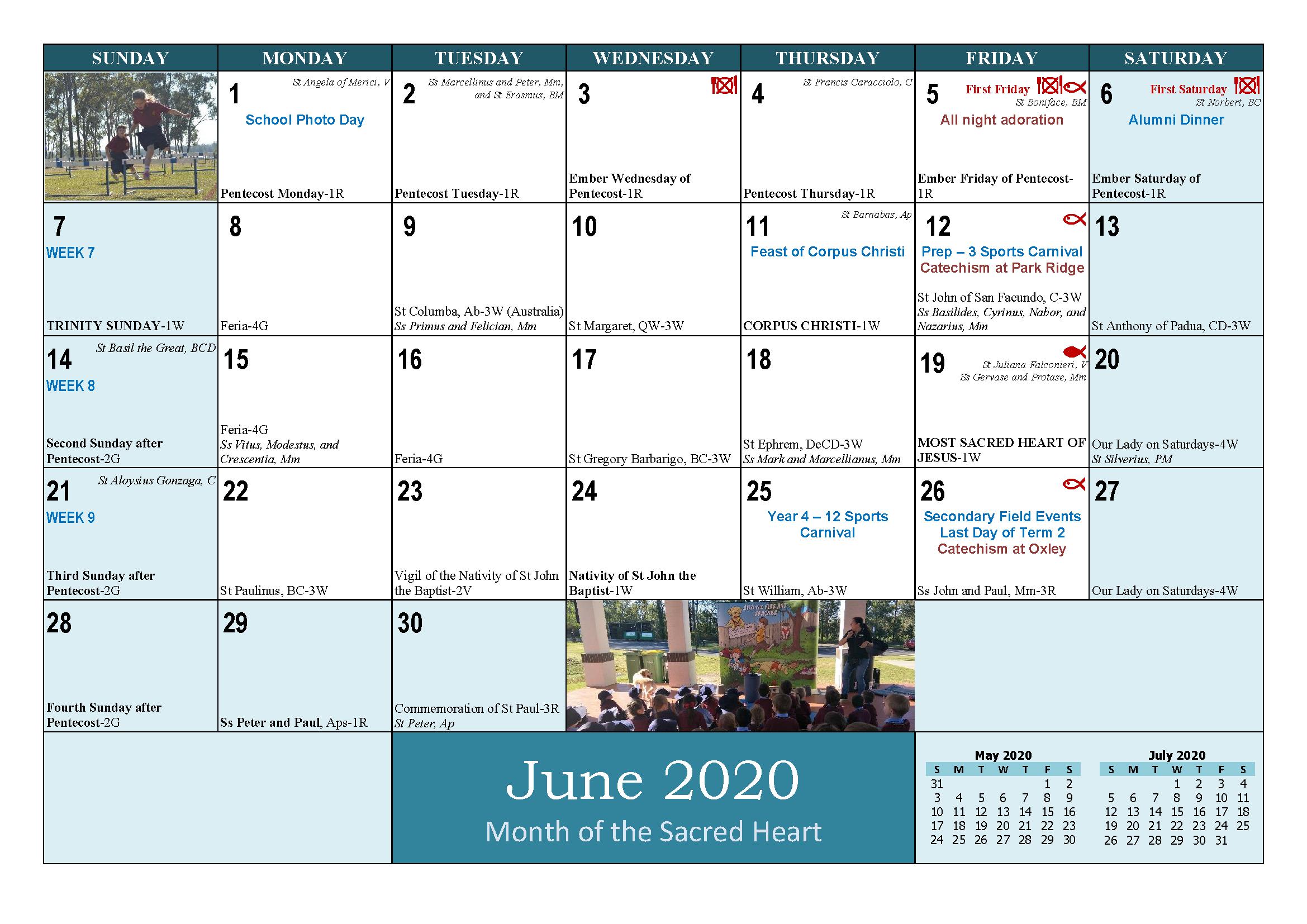 School and Parish Calendar 2020_Page_13