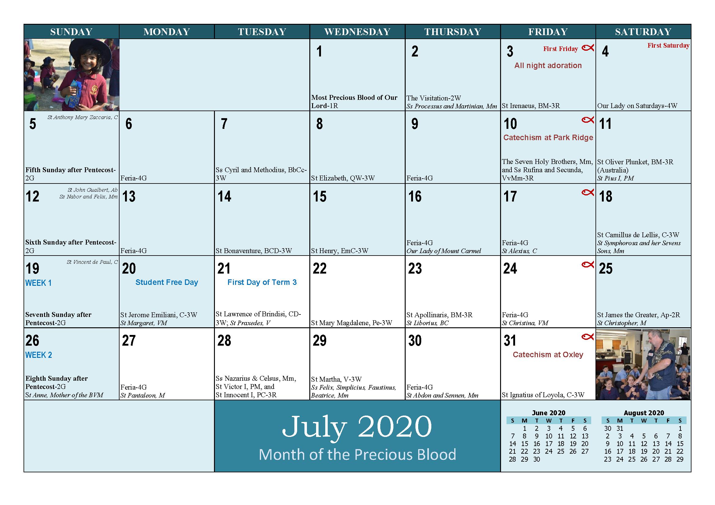 School and Parish Calendar 2020_Page_15