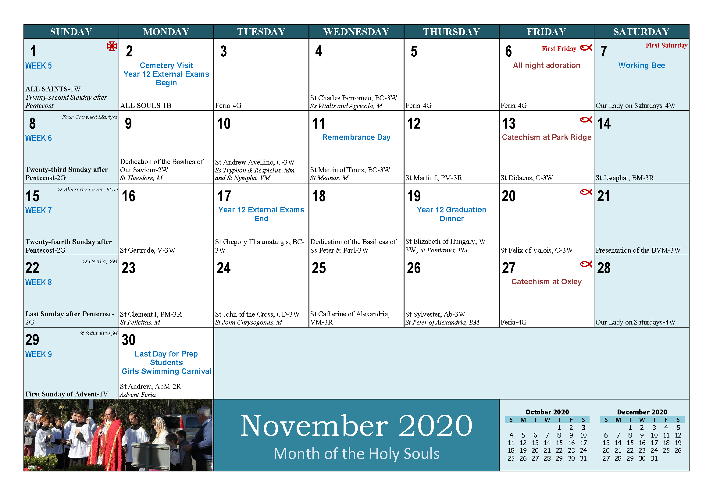 School and Parish Calendar 2020_Page_23
