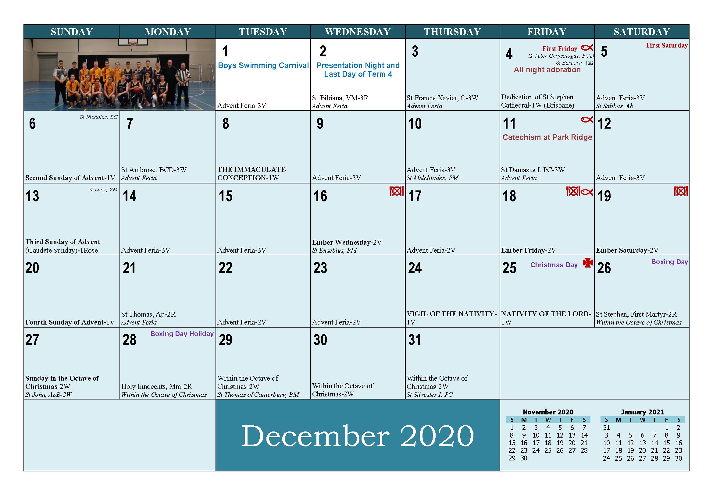 School and Parish Calendar 2020_Page_25